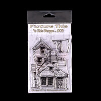 Picture This A6 Stamp Set - Ye Olde Shoppe - 2 Stamps-071894