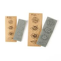 Stamp Addicts Flowers Set 1 Cling Mounted Rubber Stamps - 2 Stamp-072353