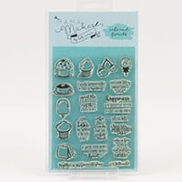 Mama Makes Cake & Friends A6 Stamp Set - 22 Stamps-072856
