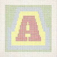 Stitchme Tapestry Letter Hanging Decoration Kit-072919