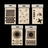 Craft Buddy Chipboard Elements Pick-n-Mix - Choose 5-073651