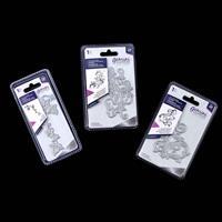 Gemini Elements Foil Stamp Dies x 3 - Flourishing Swirls 1 & 2 an-073877