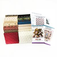 Quilter's Trading Post Log Cabin Quilt Kit & 3 Pattern Set-075706
