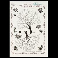 Chocolate Baroque Orchard Design a Tree A6 Stamp Sheet - 12 Image-075798