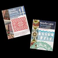 Search Press 2 x How To Books By Hazel Blomkamp - Needle Weaving -076367