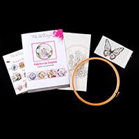 Pink Ink Designs Colour, Cut & Create A3 Haberdashery Design Pack-077710