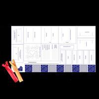 Craft Yourself Silly Stitchonary Machine Feet Panel-080772
