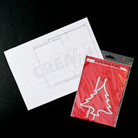 CREAlies Create a Swing Card Die Set No. 25 with Instruction Shee-081250