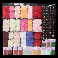 Rose Petals & Gems Embellishments Bundle - 1048 Pieces Total-082113