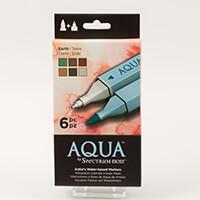 Spectrum Aqua 6 Pen Set-082372