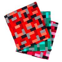 Perfect Occasions - 3 x 100% Cotton Poplin Fabrics - Geometric Bl-082909