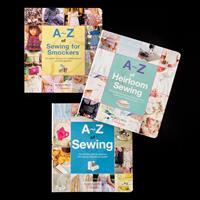 Search Press 3 x A-Z Sewing Books-084175