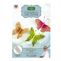 Creative Cake System Butterfly Trio Silicone Mould-087203