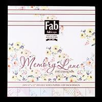 FabScraps Memory Lane 12x12