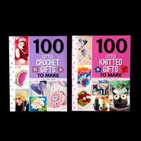 Search Press Set of 2 100 to Make Books - Knitted Gifts & Crochet-089184