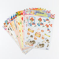 Studio Light 28 Sheets of A4 Assorted Die Cut Decoupage Pages-089590