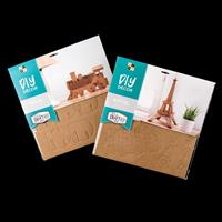 DCVW - 3D DIY Craft Projects - Train & Eiffel Tower - 2 Projects -089987