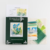 Rowandean Embroidery Himalayan Poppy Kit-090826