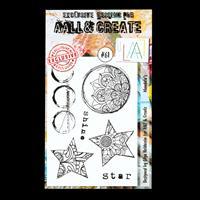 AALL & Create A6 Stamp Set - Mandala's - 6 Stamps-090980