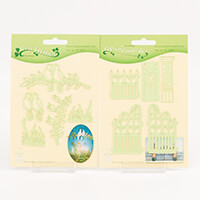 Leane Creatief Birds & Branches Die & Garden Gate Die Set-091020