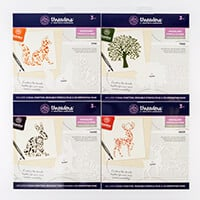 Threaders Woodland Beauty Stencil & Mask Collection - Pack of 4 S-094525