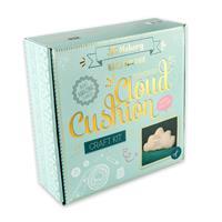 The Makery Cloud Cushion Craft Kit - Fabrics, Fabric Pen, Stuffin-095791