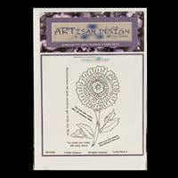Artisan Design Funky Floral A6 Stamp Sheet - Funky 4-095848
