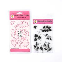 Honey Doo Crafts Leaves 1 Stamp & Die Collection - 8 Stamps & 8 D-095947