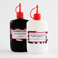 Tonertex™ 1 x 120ml Fabric Glue & 1 x 100ml Bonding Powder-096369