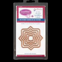 JustRite® Die Set - Nested Medallion Labels - 5 Dies Total-097053