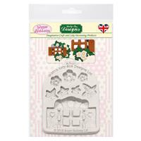 Sugar Buttons - Enchanted Window Silicone Mould-097116