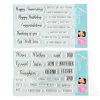 Julie Hickey Designs I Need Everyday Sentiments and Family Sentim-097304