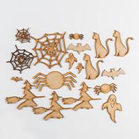 Karacter Krafts 18 x Assorted MDF Halloween Shapes-097714