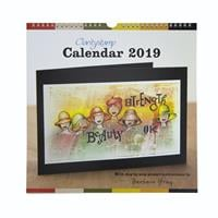 Clarity Stamp 2019 Calendar - Includes 12 Step by Step Projects-097960
