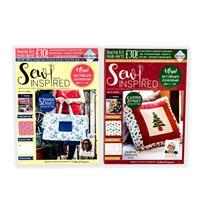 Sew Inspired Issue 13 & 14 Magazine Bundle-100563