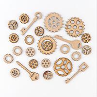 Inventors Asylum Cogs & keys Laser Cut Shapes Multi Pack - 25 in -103823