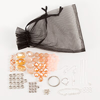 Aldridge Crafts Shimmer & Sparkle Necklace & Earrings Kit-104330