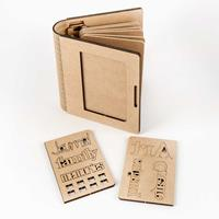 Bizarre-ology MDF Notebook Kit with 6 Pages-105495