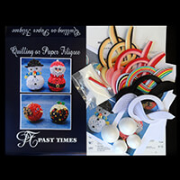 Past Times Quilling Decorations For Christmas 2 Quilling Kit-107574