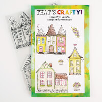 That's Crafty! A5 Clear Shroom Stamp Set-108742