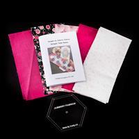 Juberry Fabrics Hexagon Table Runner-108824