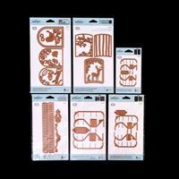 Spellbinders Shadowbox Die Collection - 33 Dies Total-108894