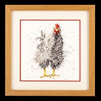 Stitch Kits Wrendale Hen Counted Cross Stitch Kit-110113