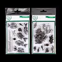 Samantha Braund Arts 2 x A6 Stamp Sets - Reef Queen and Fish Medl-110533