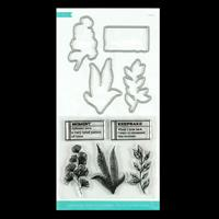 Kaisercraft Whisper Collection - Leafy Decorative Die & Stamp Set-111914
