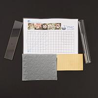 The PMC Studio Creative Kit - Textured Brass Plate, Texture Mat, -113631