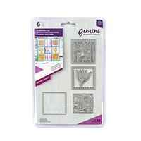 Gemini Create a Card Die Set - Tulip Patchwork - 6 Dies-114926