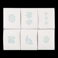 Dinky Screens 6 x Stencils - Choose from 4 Options-115545