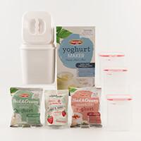 Hansells™ Yoghurt Starter Kit - Yoghurt Maker, 3 x Pots, 2 x Yogh-117448