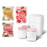 Hansells™ Yoghurt Starter Kit - Yoghurt Maker, 3 Pots, 2 x Yoghur-117448